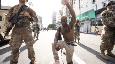National Guard Called In As Protests And Unrest Erupt Across Los Angeles Causing Widespread Damage