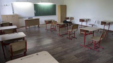 Sala de clasă într-o scoala.