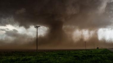 Tornado Intercepted north of Tahoka, Tx. on May 5th, 2019 by storm chaser Jordan Carruthers