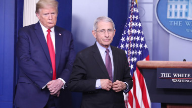 anthony fauci si donald trump la casa alba