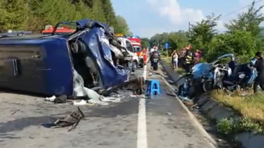 accident vrancea
