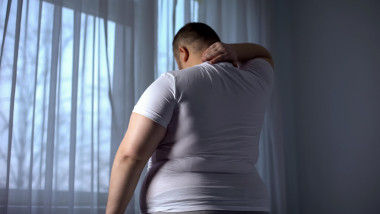 bărbat obez