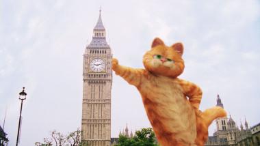 Motanul Garfield împlinește astăzi 42 de ani