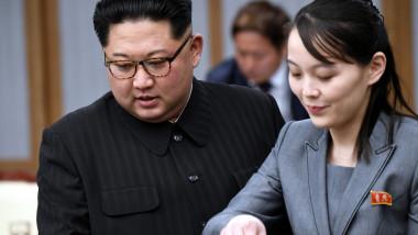 Kim jong un si kim yo jong coreea de nord