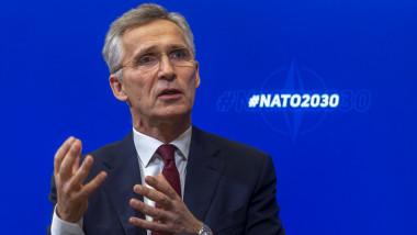 Secretarul general NATO, Jens Stoltenberg
