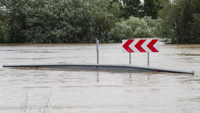 Cod rosu de inundatii in judetul Timis