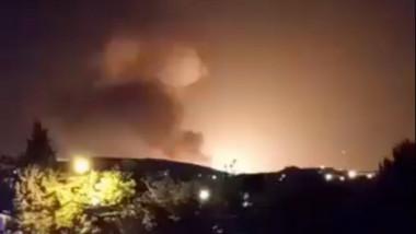 Explozie langa o baza militara din Teheran