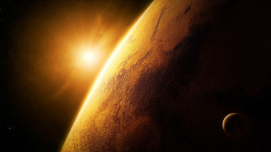 planeta marte soare nasa