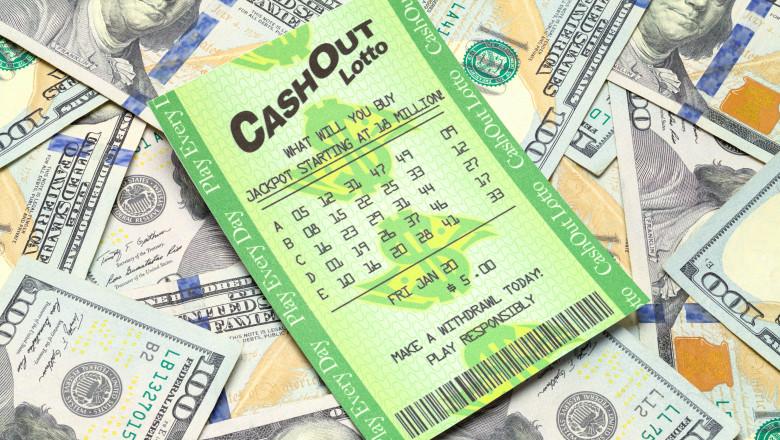 Bilet loterie SUA