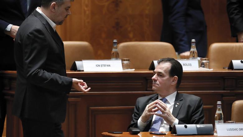Marcel Ciolacu: Vom depune o moţiune de cenzură şi 100% va trece. PSD vrea să propună prim-ministru