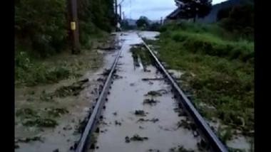 Circulaţia feroviară, oprită pe distanţa Gura Humorului-Frasin