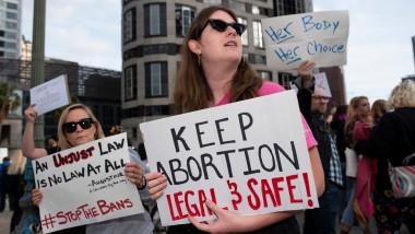 proteste pro avort in sua