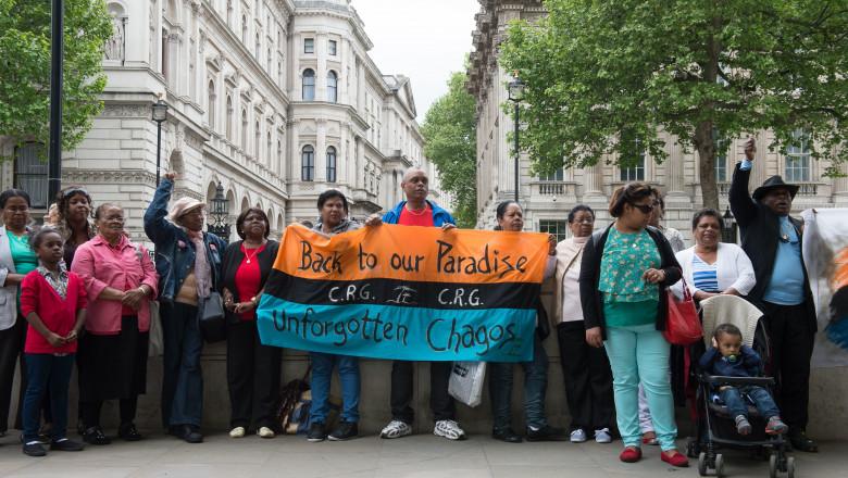 profimedia protestatari chagos