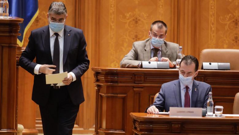 ciolacu orban parlament