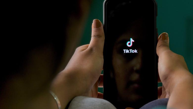 TikTok telefon aplicatie