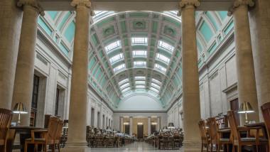 Camera de lectură a unei biblioteci din cadrul Universității Harvard