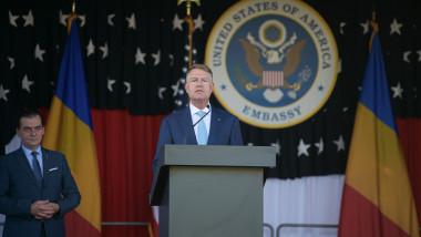 iohannis la ambasada sua 4 iulie 2020