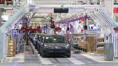 fabrica de masini tesla china
