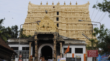 The Sree Padmanabhaswamy Temple, Thiruvananthapuram, Kerala, India - 19 Jul 2011