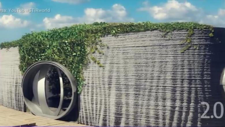Casă plutitoare construită prin tehnologie 3D în Cehia