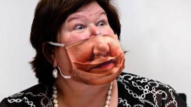 ministru belgian masca