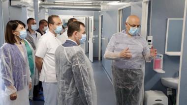 orban arafat spital modular elias coronavirus asociatia daruieste viata