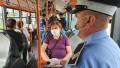 oameni autobuz politie masti - politia locala bucuresti