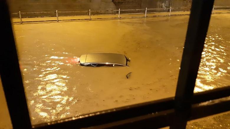 Inundatii puternice in Zagreb, in urma unei furtuni