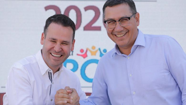 Victor Ponta si Robert Negoita si-au lansat alianta politica pentru alegerile din Bucuresti