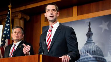 Tom Cotton este un senator american in statul Arkansas