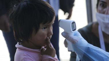 copil termometru coronavirus bolivia