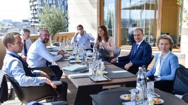 Summit al Consiliului European la Bruxelles