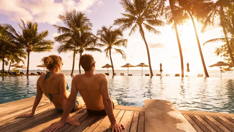 plajă, paradis exotic