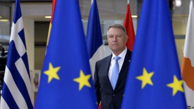 Klaus Iohannis la Bruxelles