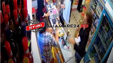 vanzatoare-lovita-magazin-baia-mare-maramures