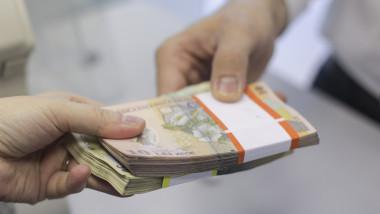 banca ghiseu bani tranzactie plata