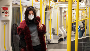 Commuters Abandon London Bus Service During Coronavirus Pandemic