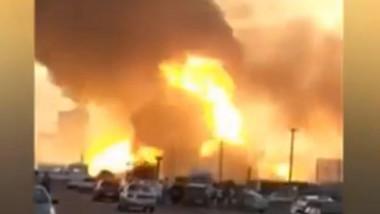 rusia explozie benzinarie
