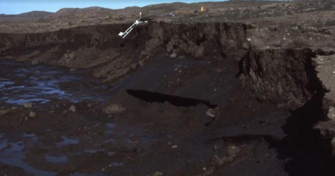"""Craterul """"Poarta Iadului"""" din Siberia se măreşte într-un ritm alarmant"""