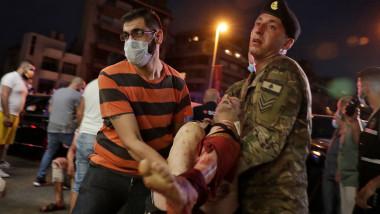 rănit explozie Beirut