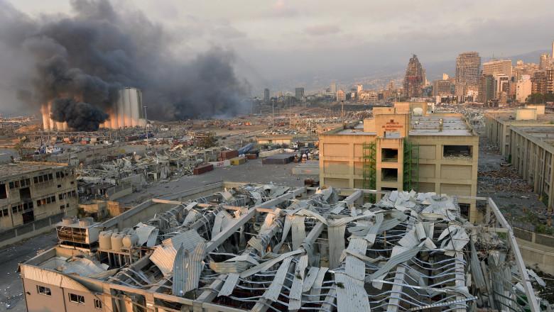 Armata libaneză a găsit încă peste 4 tone de nitrat de amoniu în apropierea portului Beirut