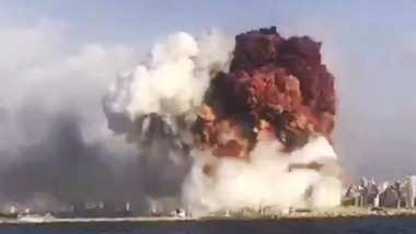 Large explosion in harbor area rocks Lebanon