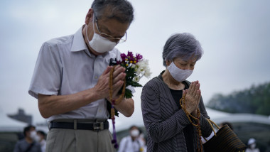 Japan marks 75th anniversary of Hiroshima atomic bombing