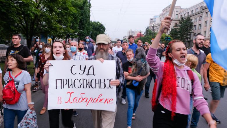 proteste rusia Habarovsk