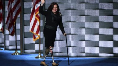 Tammy Duckworth la Convenția Democraților din 2016