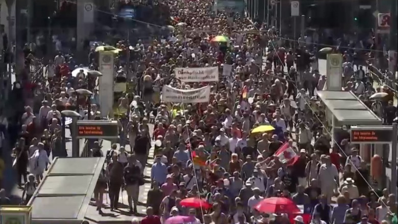 protest coronasceptici berlin