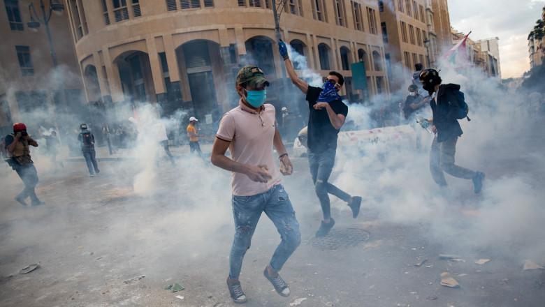 proteste la Beirut
