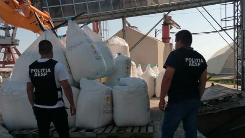 azotat de amoniui confiscat in port