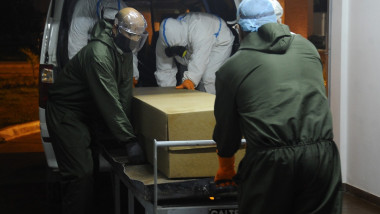 Soluția macabră găsită de o țară din America de Sud pentru a face față deceselor de COVID: crematoriul mobil