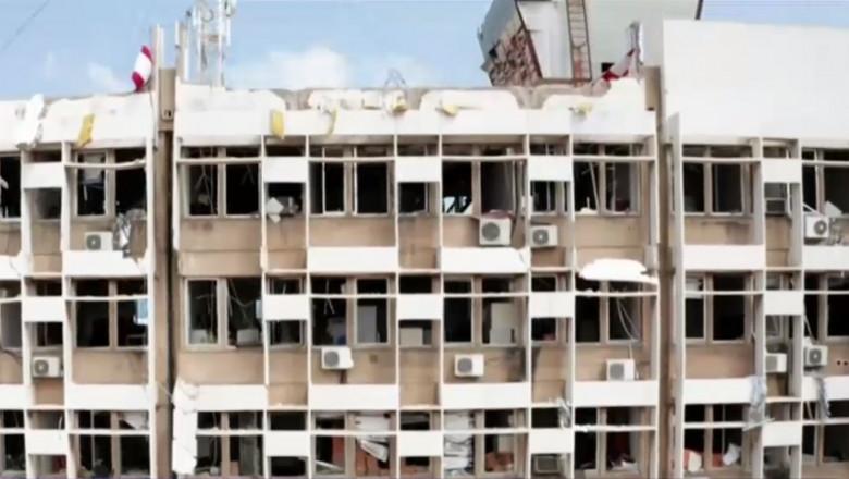 spital beirut afectat de explozie - captura